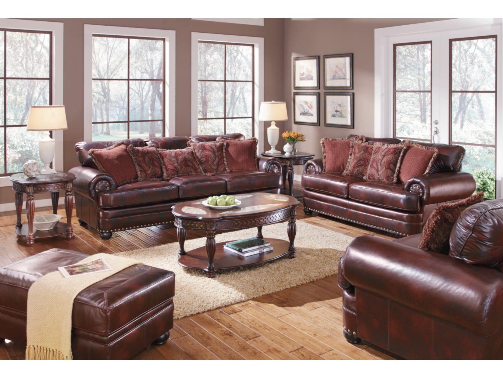 Westover Saddle Sofa American Signature Furniture Home Decor