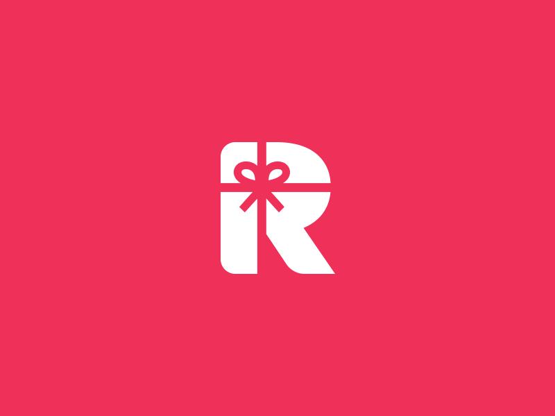 r gift logo mark by aditya chhatrala design popular dribbble rh pinterest com gift shops lagos nigeria gift shop logo templates