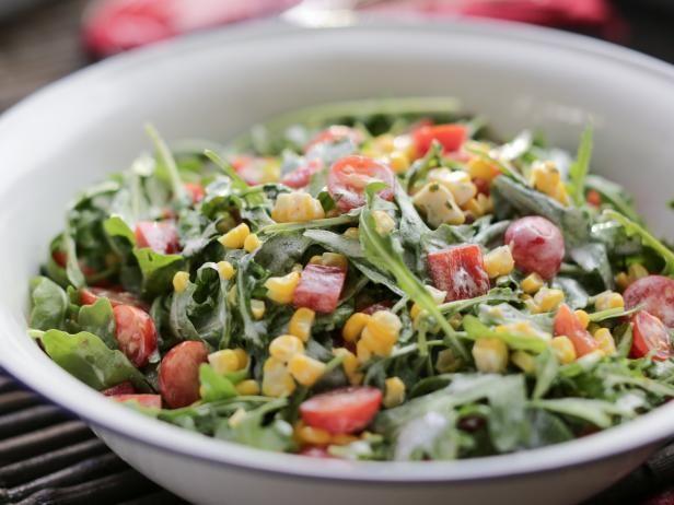 Arugula-Corn Salad