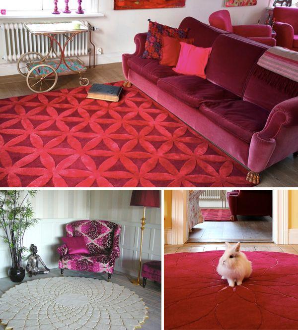 Rug Design: Ingrid Kulper Inspirations