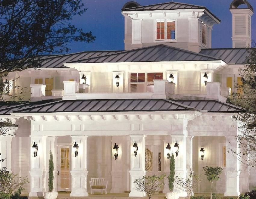 British west indies spanish cedar recessed panel pedestal for West indian style house plans