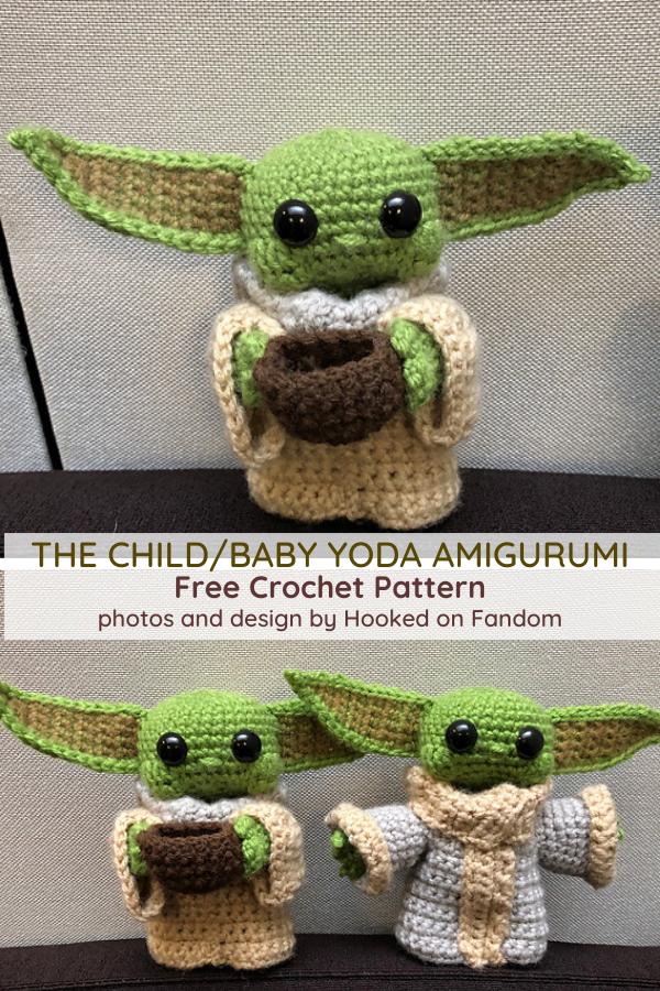 Photo of Baby Yoda Free Crochet Pattern – So süß, schau dir das kleine Gesicht an! – Stricken und Croc…
