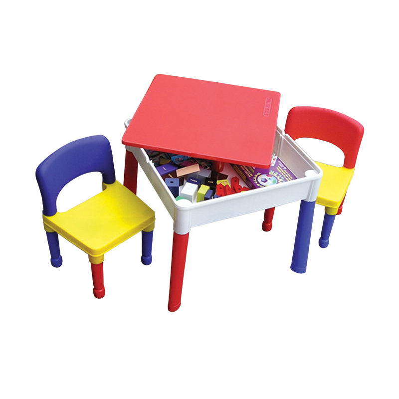 Kids Square Activity Storage Table Amp Chairs Table Chair