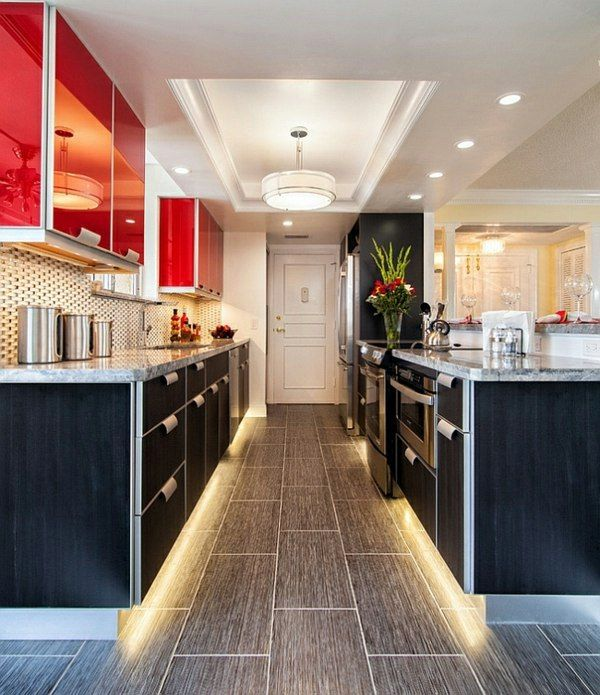 Gorgeous interior design ideas in Red-Black-White ✽Ambient