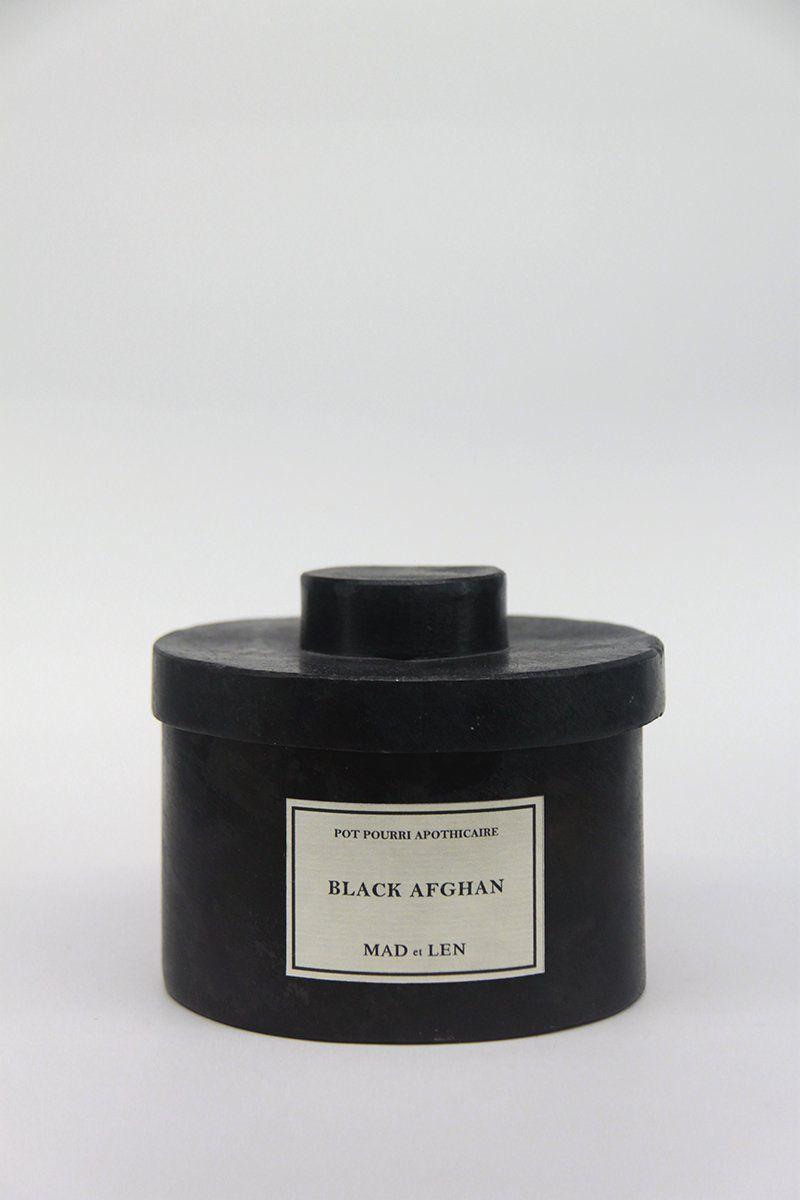 Mad Et Len Pot Pourri Apothicaire Black Afghan Aleluya Store