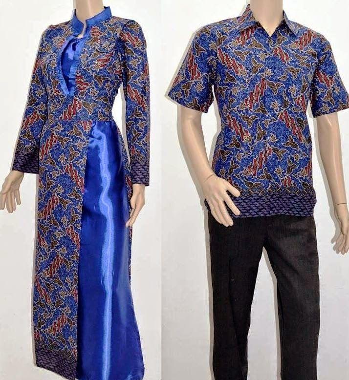10 Model Baju Batik Sarimbit Modern Terbaru 2018: Model Baju Batik Modern Terbaru 2015