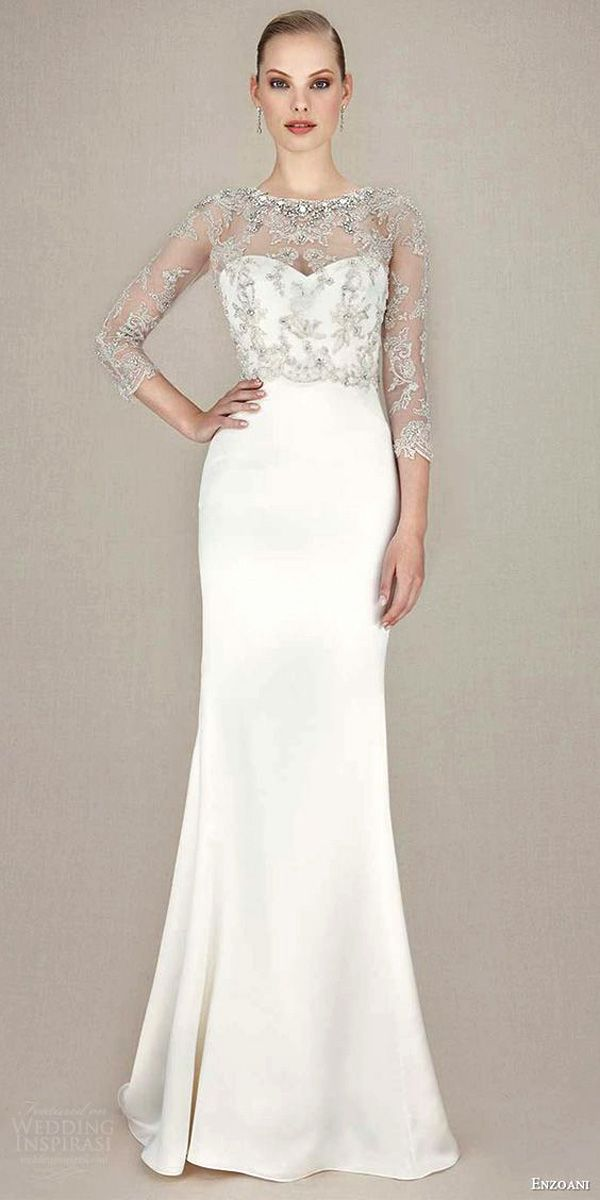 24 Modern Jeweled Wedding Dresses | Jewel, Wedding dress and Wedding