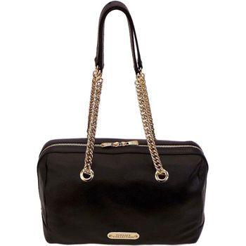 Costco Versace Collection Pebble Leather Handbag Black