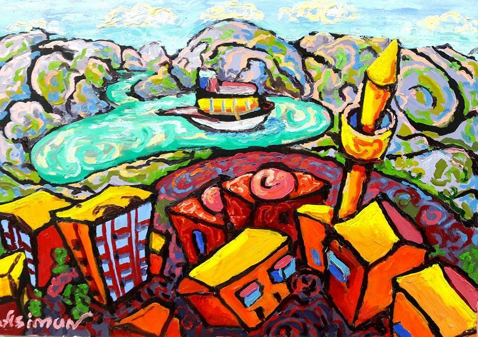 Bu Artist Painter Intigam Agayev In 2021 Art Painting Artist