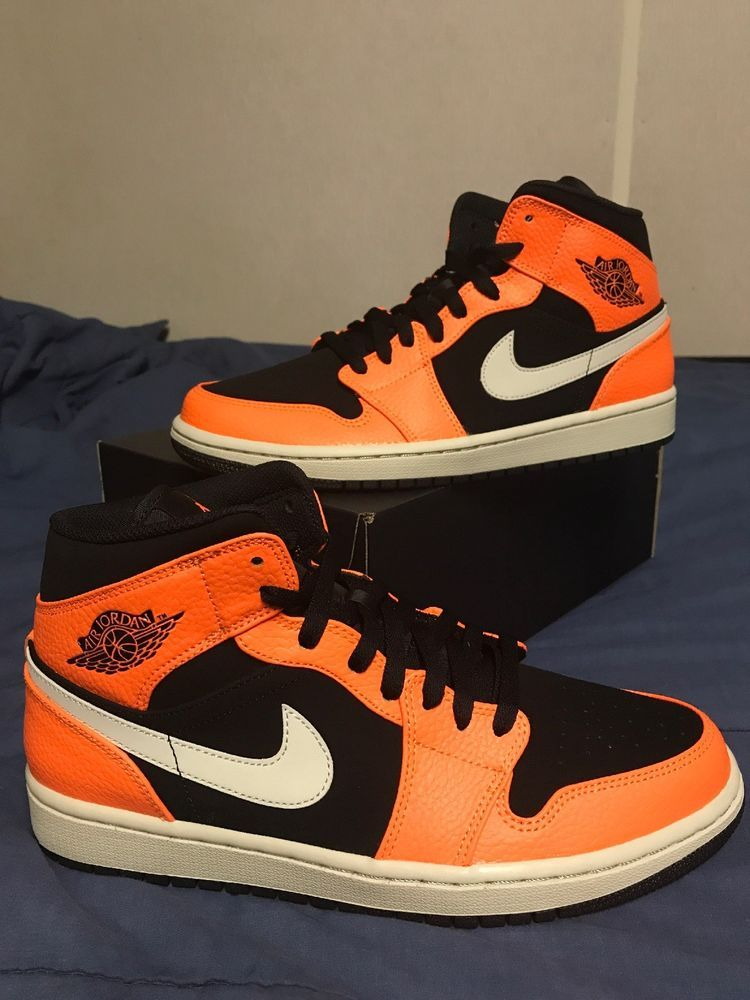 watch 10e0d 40ca4 Nike Air Jordan 1 Retro Sneakers - Size 9 US Black Cone- ( DEADSTOCK )   fashion  clothing  shoes  accessories  mensshoes  athleticshoes (ebay link)