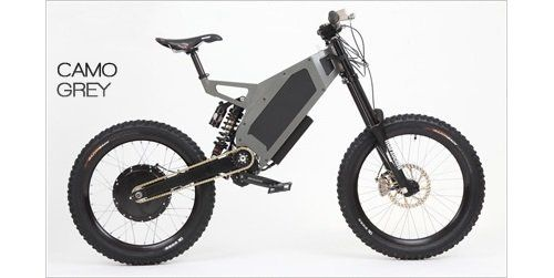 Stealth Bomber 4 5kw 9 Speed 50 Mph Zero Emission Electric Bike Electric Bike Bike Usa Electric Mountain Bike