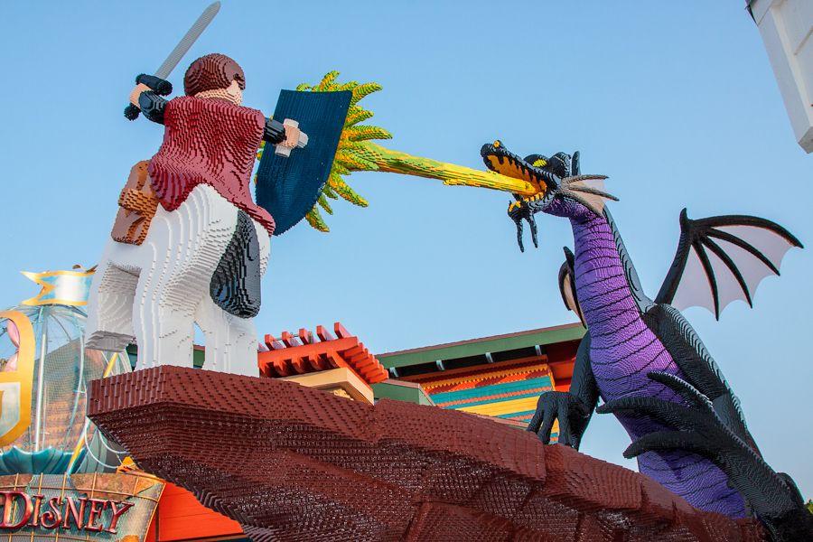 Amazing Lego Art at Disney World Orlando | ❤️Disney Lovers ...