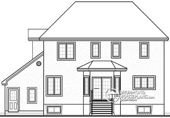House plan W2803 detail from DrummondHousePlans love this