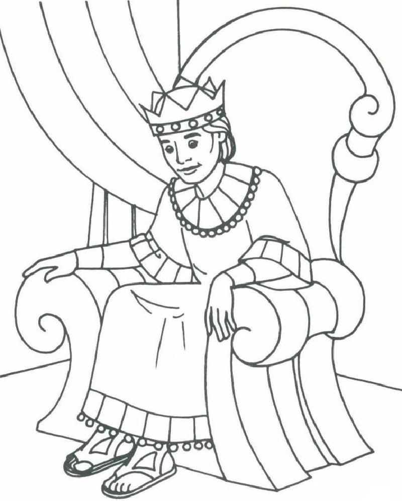 King David Coloring Pages Worksheet  Star wars coloring book