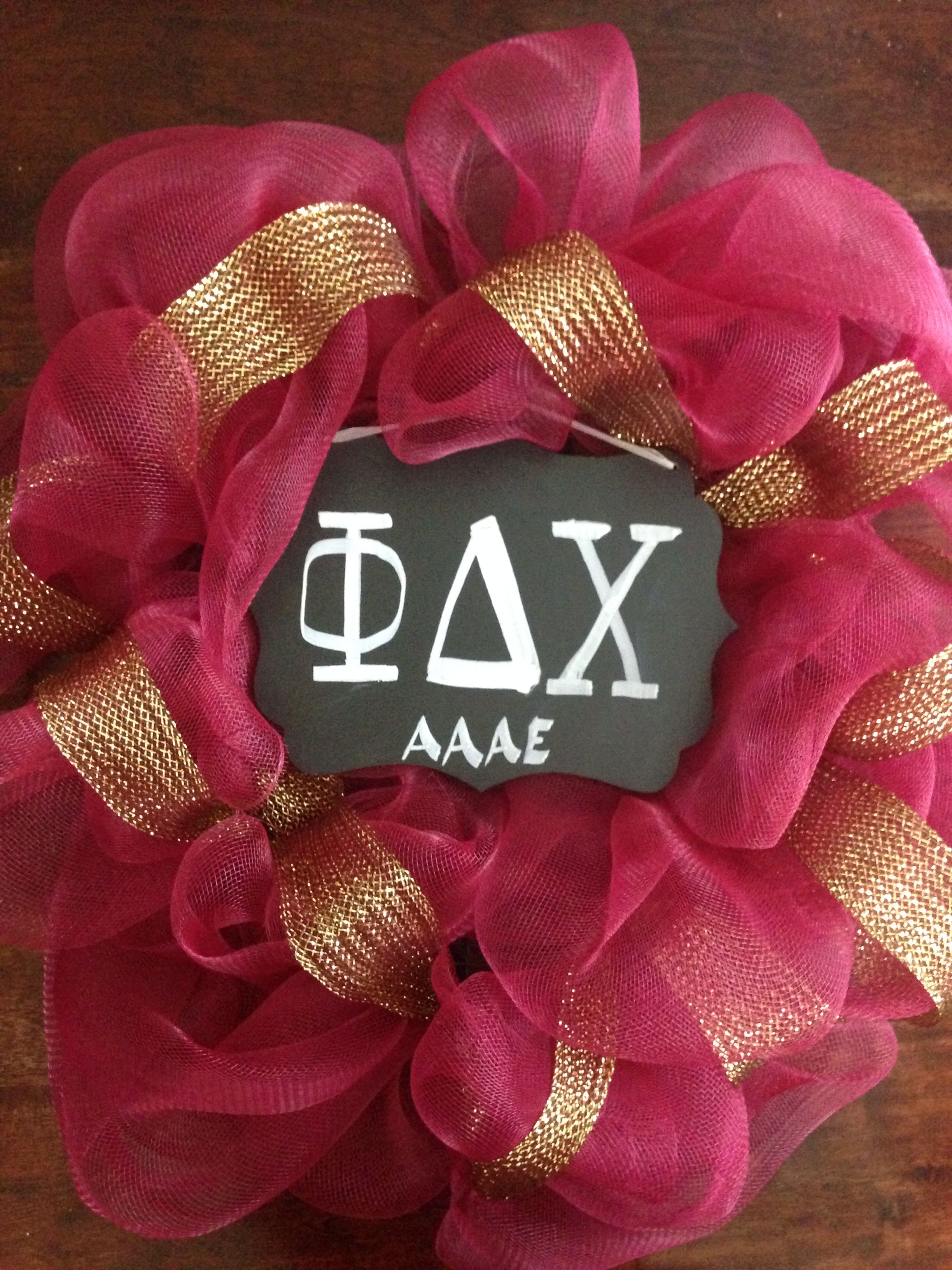 Gold And Dregs Of Wine Colors For Phi Delta Chi Wreath Delta Chi 4th Of July Wreath Burlap Wreath