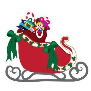 free printable lds christmas clip art santa s sleigh clip art rh pinterest com santas sleigh clipart santa sleigh clipart black and white