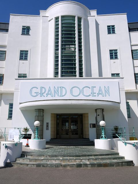 Adrian Yekkes The Ocean Hotel Seaside Art Deco In Saltdean
