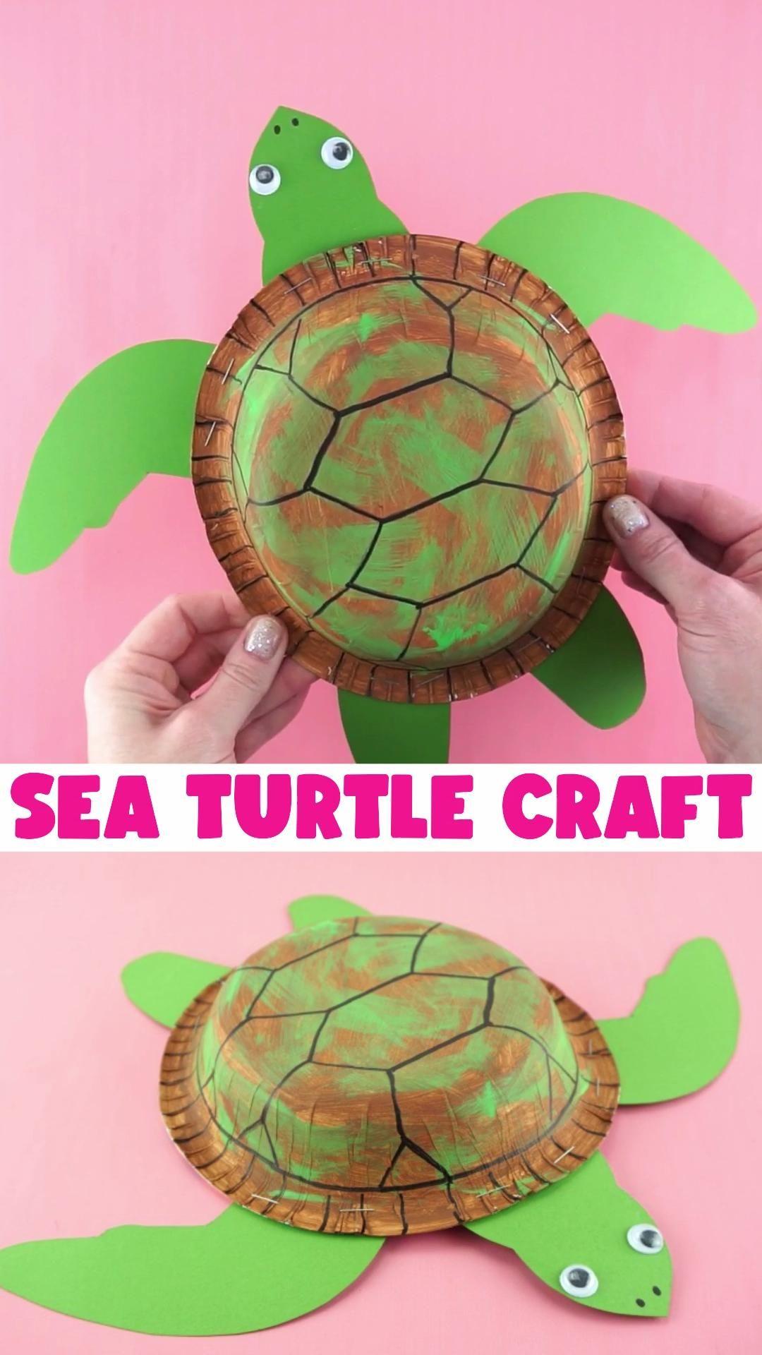 Photo of Fun Sea Turtle Craft for Kids