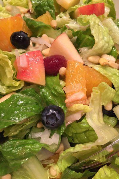 Limelight Fruit and Veggie Salad