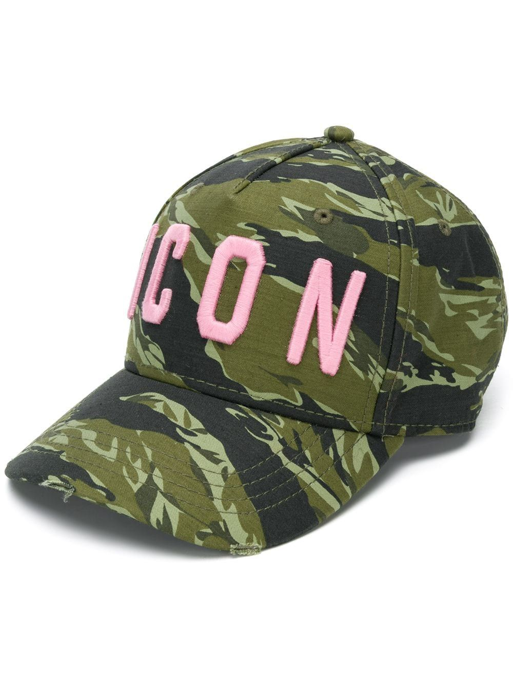 36ea18a12 Dsquared2 camouflage cap - Green | Products in 2019 | Women ...