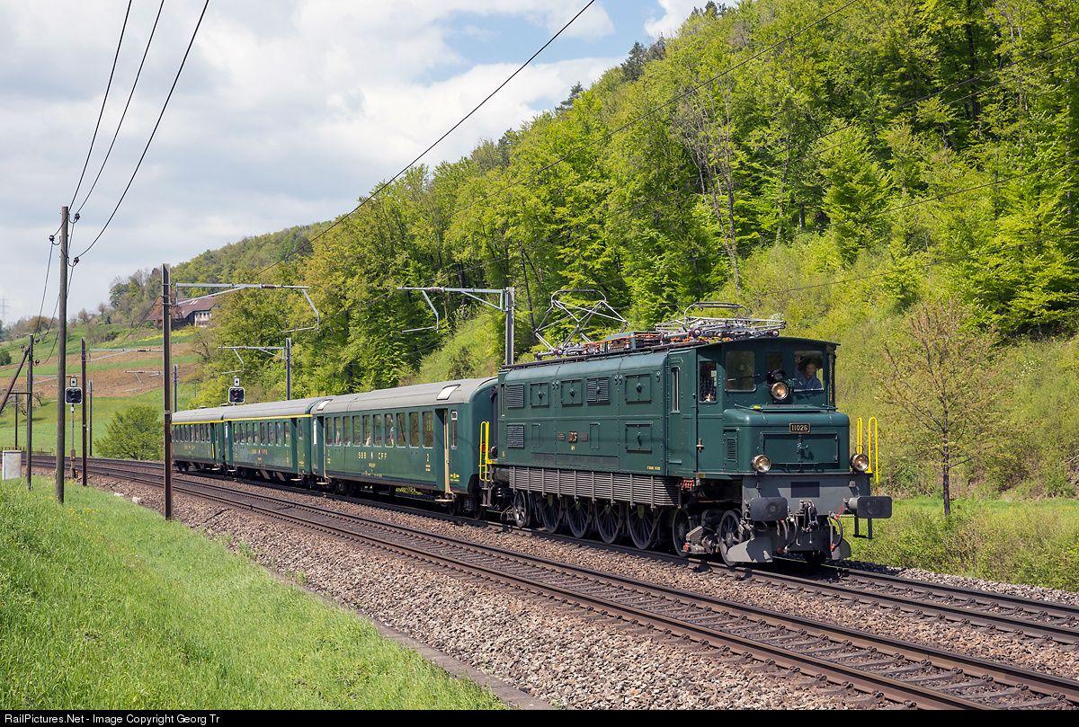11026 Mikado 1244 Ae 4 7 At Tecknau Switzerland By Georg Tr B Switzerland Train Rail Transport