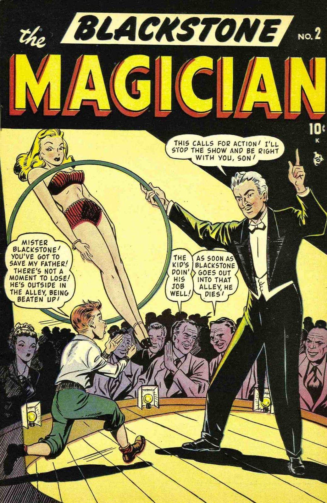 Blackstone the Magician comic book