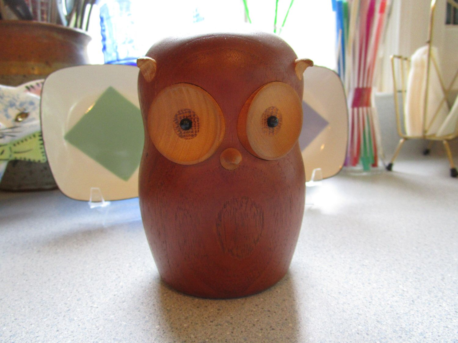 Mid Century Danish Laurids Lonborg Owl - Excellent! by flyingdustbunny on Etsy https://www.etsy.com/listing/229651325/mid-century-danish-laurids-lonborg-owl