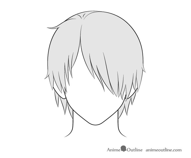 Pin By Cameron G On Tekenen In 2020 Anime Boy Hair Boy Hair Drawing Anime Drawings