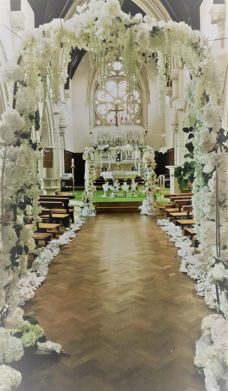 Luxury Wedding Decoration At St Thomas S Canterbury Www