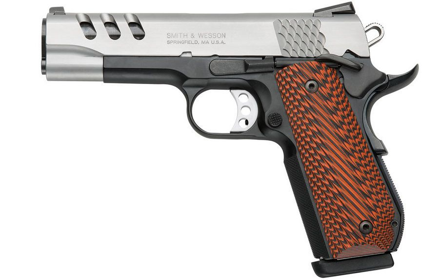 SW1911 45 ACP Performance Center Pistol with 4.25inch
