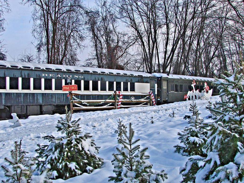 Trains have always been a part of holiday celebrations—so why not hop aboard this season? Here are six seasonally appropriate rides to consider