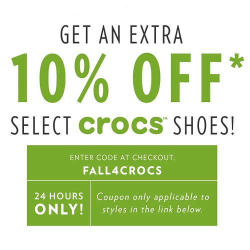 photo about Zyrtec Printable Coupon $10 named Crocs : Up in direction of 71% off + Additional 10% off Discount rates and Promotions