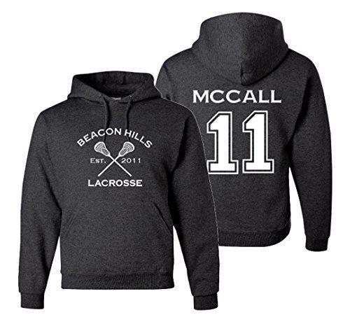 e49e4831c1b3 Adult Teen Wolf Beacon Hills Lacrosse McCall 11 Hoodie