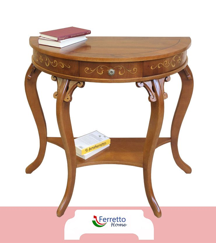 Charming console table in wood tavolo consolle tavoli