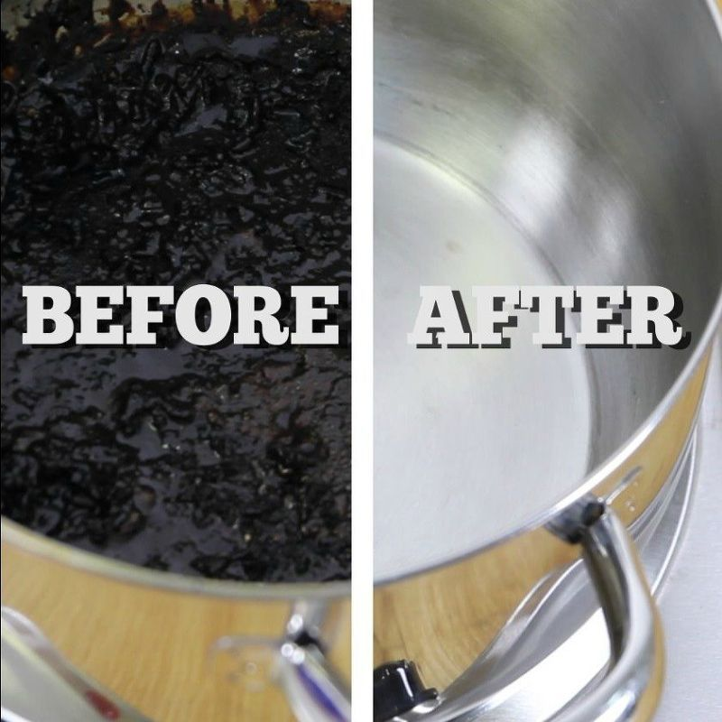 The Easiest Way To Clean A Burnt Pot Or Pan Clean Burnt Pots