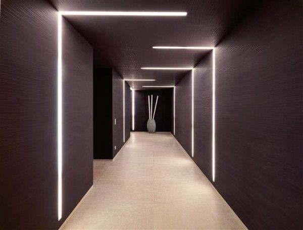 maison contemporaine de luxe qui change de couleur light eclairage design clairage. Black Bedroom Furniture Sets. Home Design Ideas