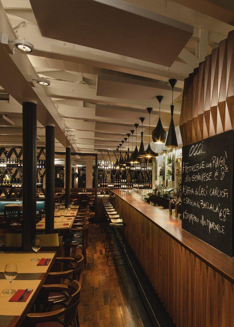 La prima destinazione del viaggio settimanale alla scoperta di alcuni tra i progetti di Interior design di Bistrot e Cafè nellegrandi metropoli, è Roma ci