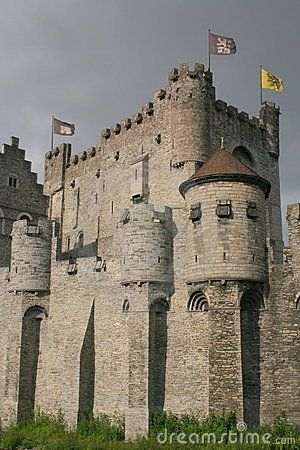 Pictures Medieval Castles   Medieval Castle Royalty Free Stock Photo - Image: 5430065