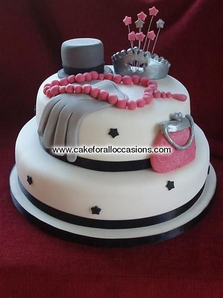 Awesome Unique Birthday Cakes For Women Cake L042 Womens Birthday Funny Birthday Cards Online Alyptdamsfinfo