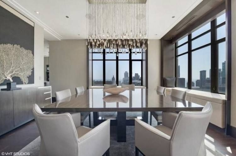 Billionaire Dining Rooms In 2020 Room Window Treatments Bedroom Condos For Sale