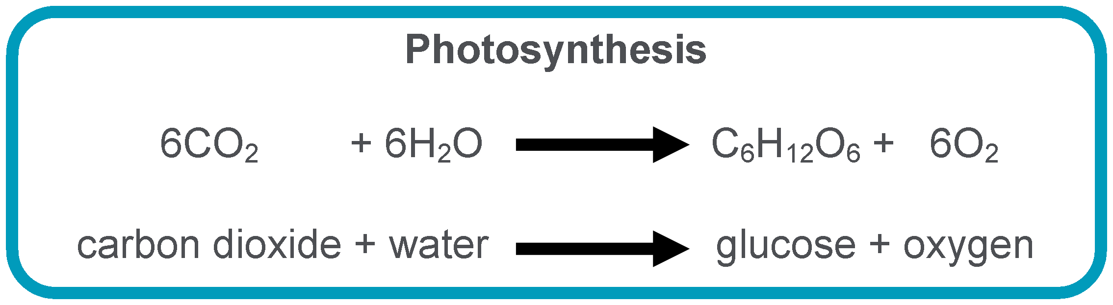 equation for phtosynthesis (a) photosynthesis is a process that takes place in green plants (i) what type of  energy is needed  (iv) write a balanced chemical equation for photosynthesis.
