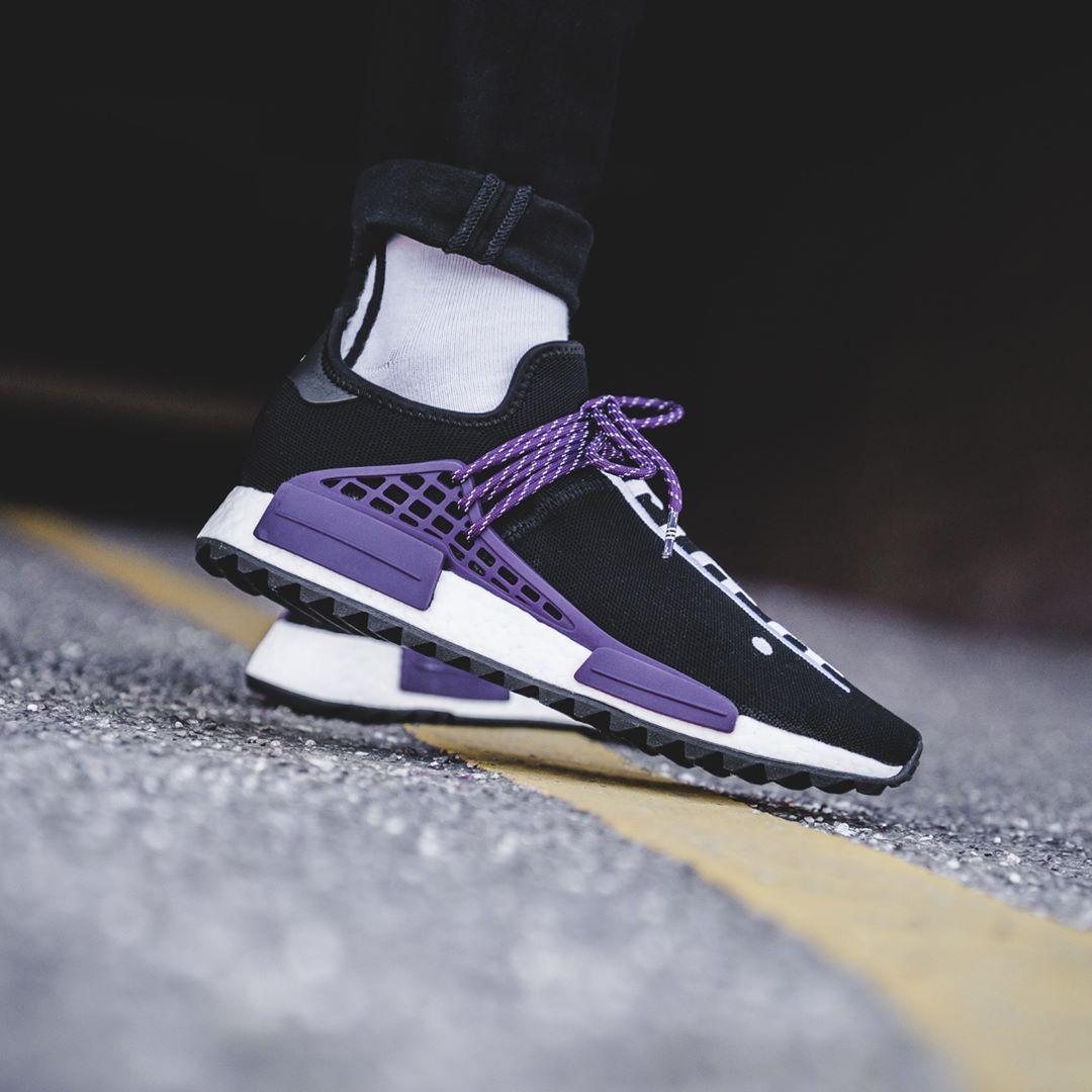 Adidas x Pharrell Williams Hu Holi Core NMD Core Holi Negro  Hombre Sneakers 03fcbc
