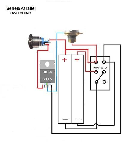Motley Mods Box Mod Wiring Diagrams,Led Button,Switch Parallel Series,Led Angel Eye Button