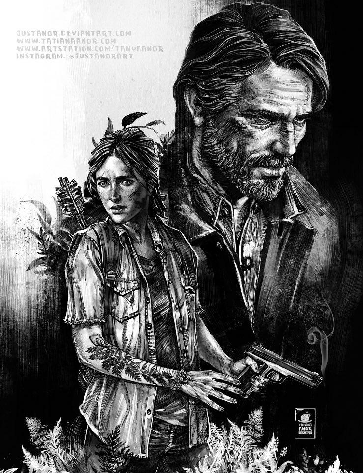 Last Of Us 2 Dibujos