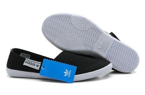 Adidas Adidrill Men Flats Black Canvas
