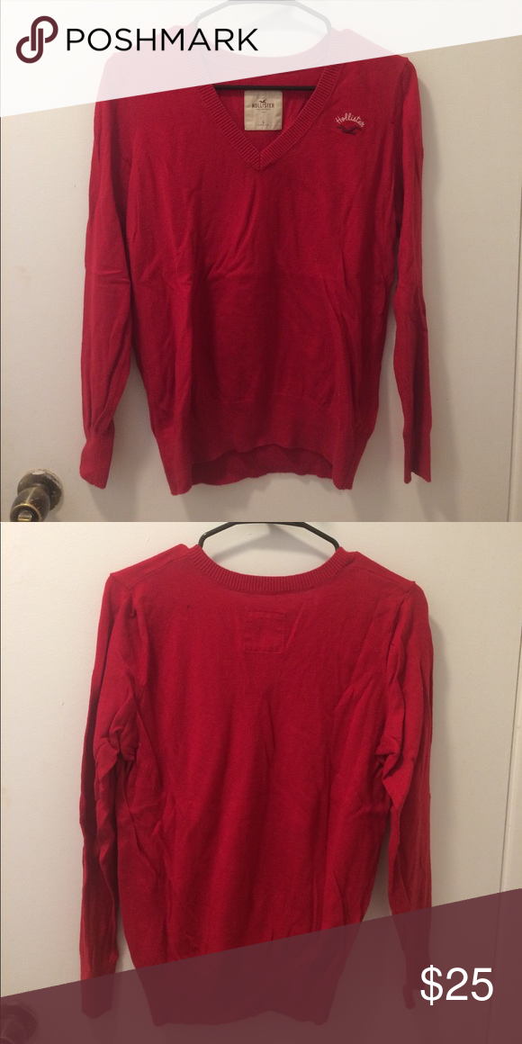 Hollister sweater 9/10 condition, v-neck hollister sweater Hollister Sweaters V-Necks