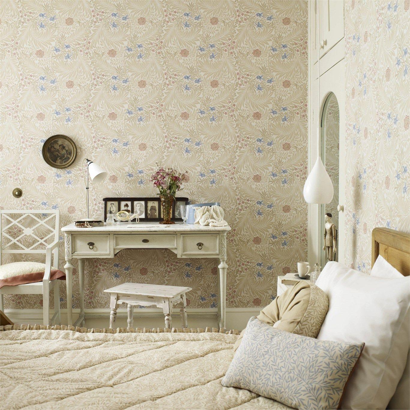 Light Blue Wallpaper Bedroom Larkspur Archive Ii Wallpapers By Morris Co Morris Co