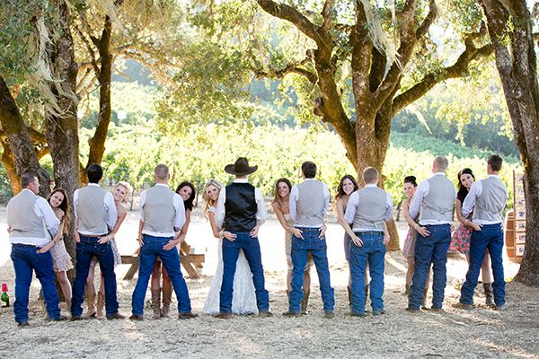 Country Meets Vintage Wedding