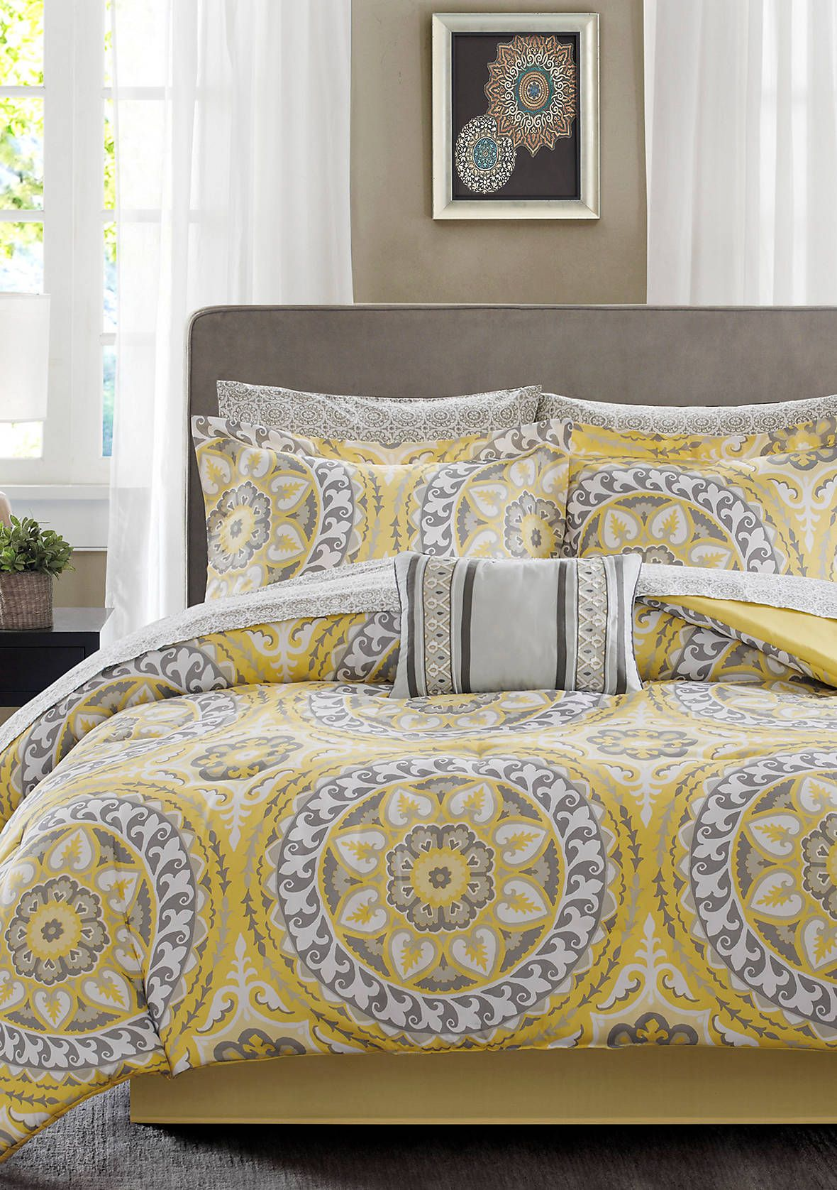 Photo of Madison Park Essentials Serenity Complete Comforter Set – Yellow