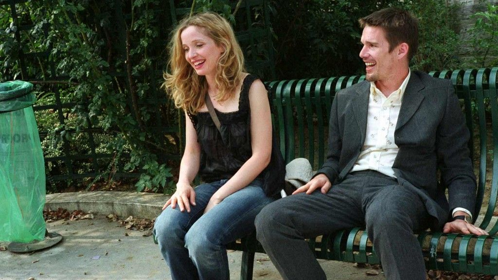 Before Sunset is a 2004 American romantic drama film, the sequel to Before Sunrise (1995) and the predecessor to Before Midnight (2013). Lik...